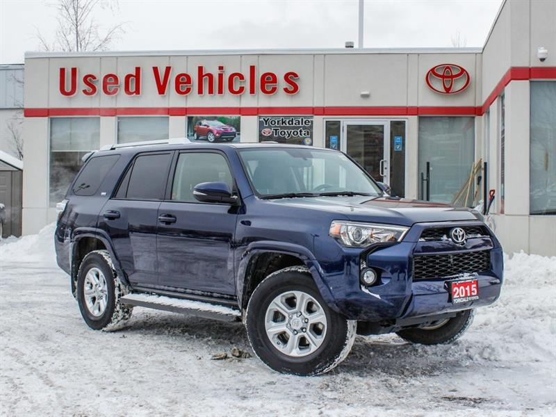 2015 Toyota 4Runner SR5   7 Seats   Leather   Navi   H.Seats #L7856