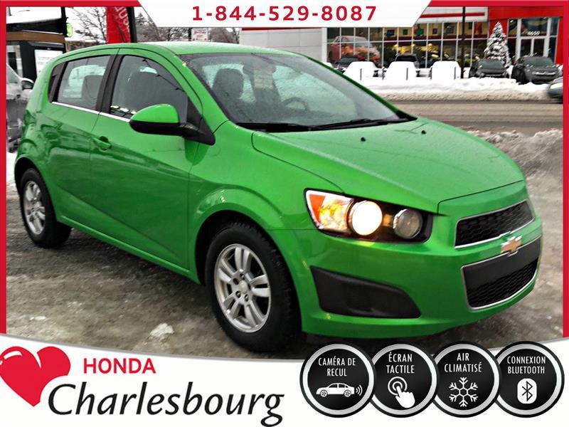 Chevrolet Sonic 2015 LT TURBO **UN PROPRIÉTAIRE** #UA19023