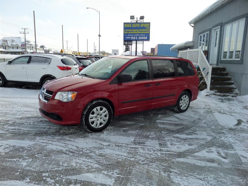 Dodge Grand Caravan 2016 4dr Wgn Canada Value Package