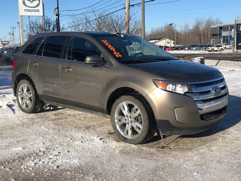 Ford EDGE 2013 AWD* LIMITED*GPS*TOIT PANO*CUIR*HAYON ELECT* #3312A