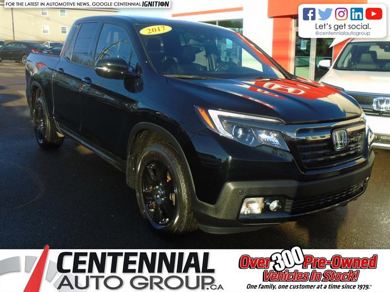 2017 Honda Ridgeline Black Edition |  #9708A