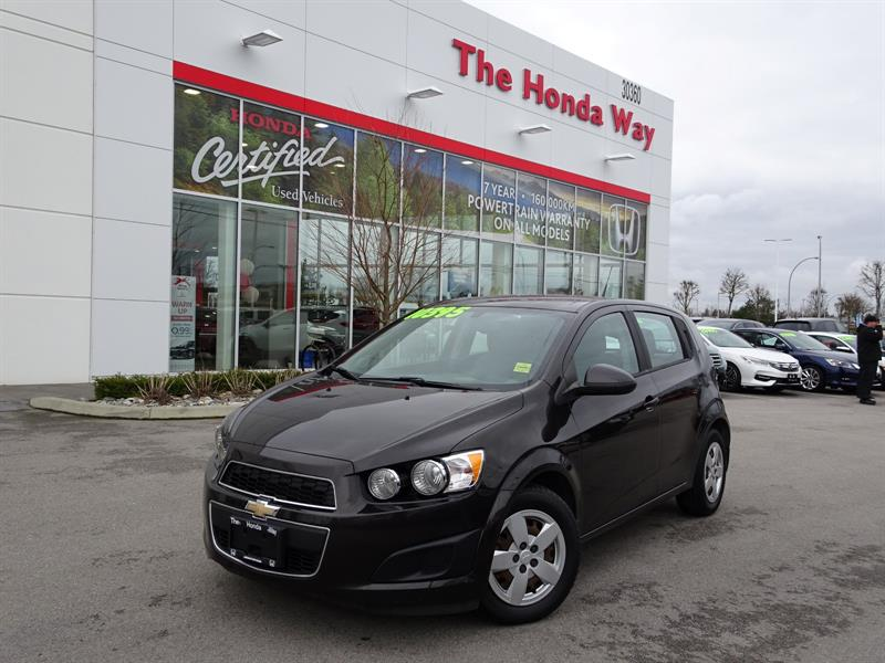 2014 Chevrolet Sonic LS Auto 5-Door - BLUETOOTH, SPACIOUS, GREAT FOR TR #P5299