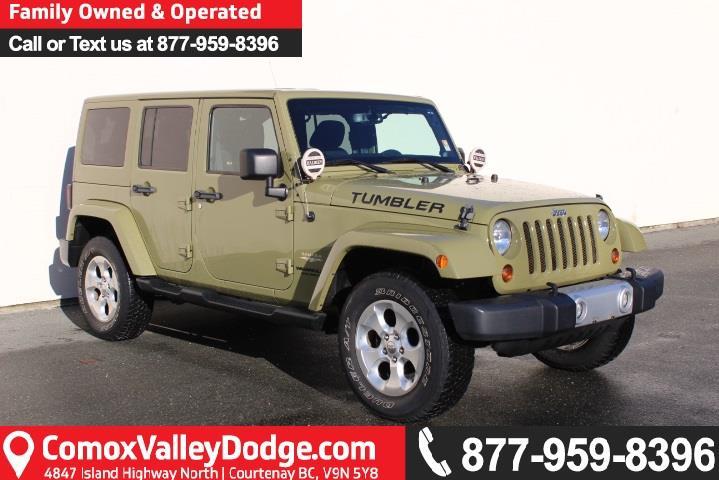 2013 Jeep Wrangler Unlimited Sahara #L863694A