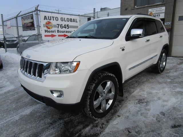 Jeep Grand Cherokee 2012 4WD 4dr Overland,DVD,TOIT PANO, #19-2365