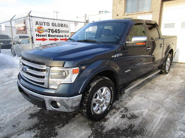 Ford F-150 2013 4WD SuperCrew,LARIAT,CUIR,TOIT OUVRANT,MAGS, #18-1680