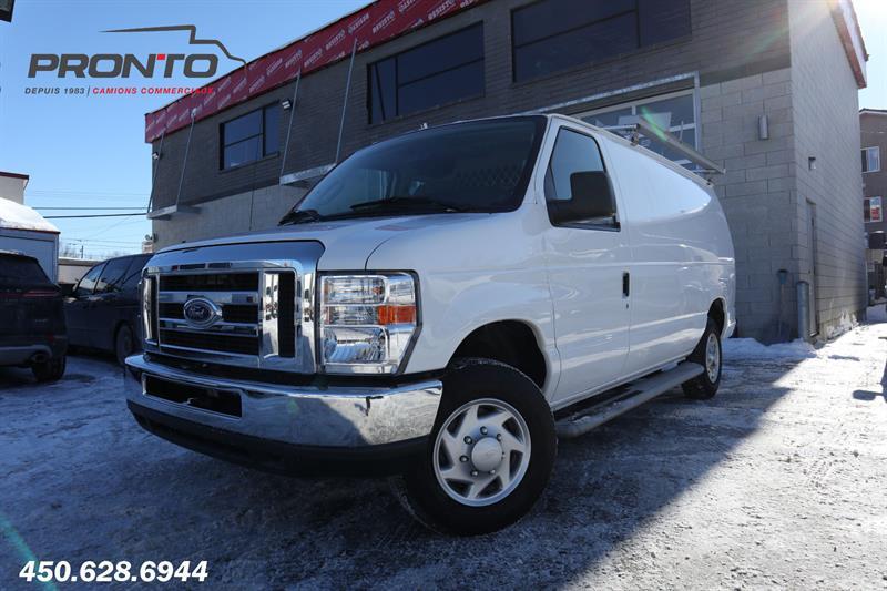 Ford Econoline Cargo Van 2014 E-250 Full rack ** Bas kilo! ** #1554