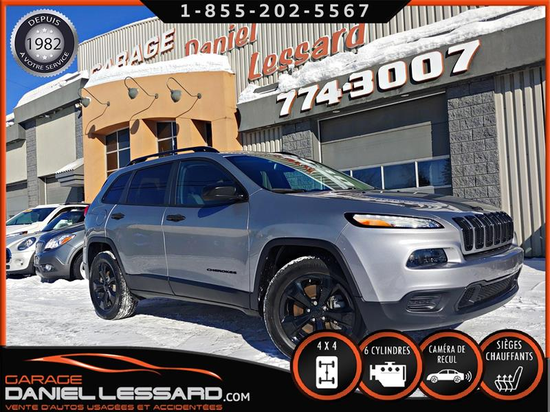 Jeep Cherokee 2016 ALTITUDE, BLACK APPARENCE, MAG, CAM RECUL, VGA #69036