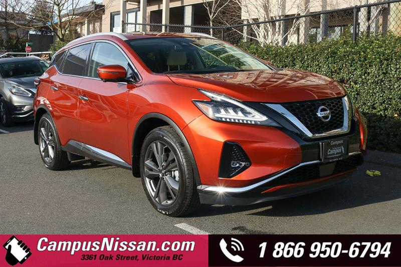 2019 Nissan Murano Platinum AWD w/ Leather & Moonroof #9-Q139