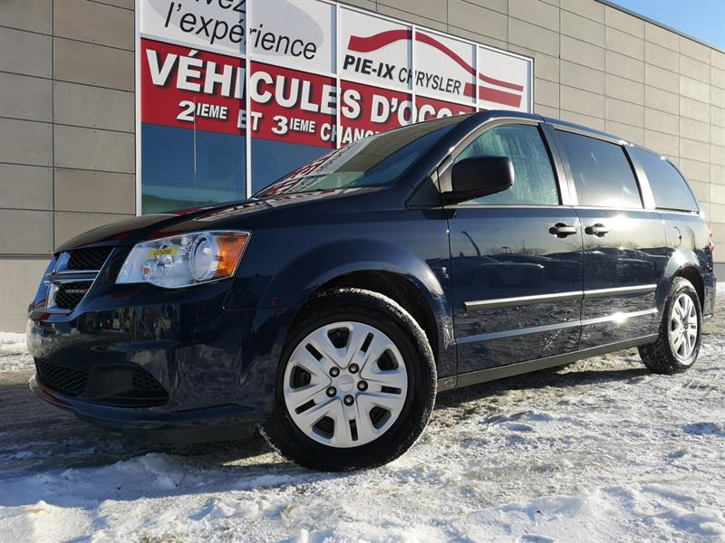 Dodge Grand Caravan 2016 4dr Wgn Canada Value Package #UD5058