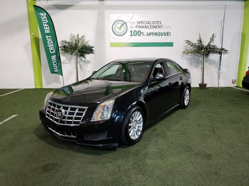 Cadillac CTS Sedan 2013 4dr Sdn 3.0L Luxury RWD #2546-01