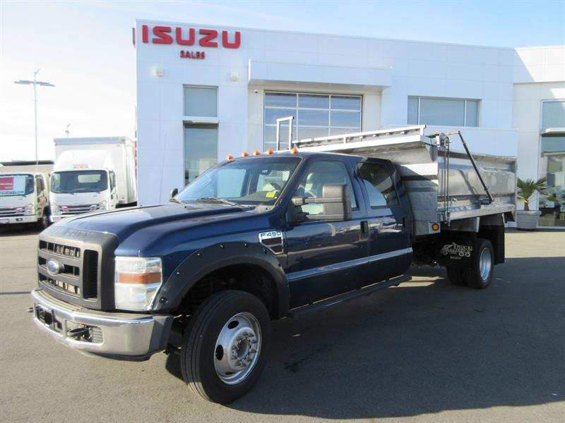 2008 Ford F450 Crew Cab with Dump Body #U7028