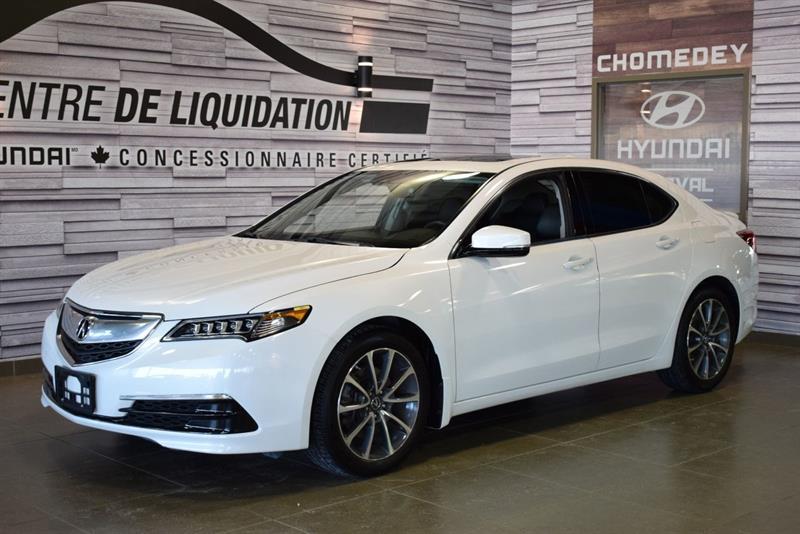 Acura TLX 2015 TECH+AWD+CUIT+TOIT+MAGS+GPS #S8851