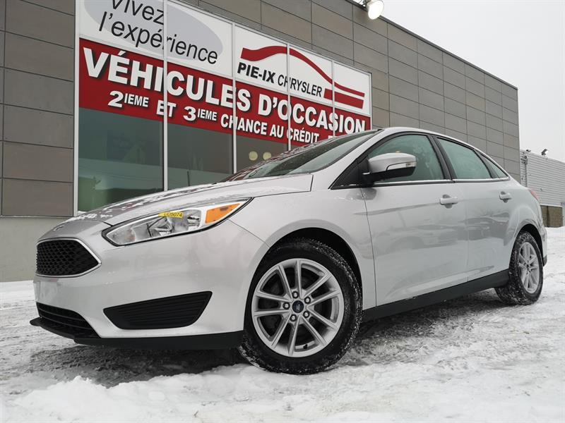 Ford Focus 2017 4dr Sdn SE+MAGS+CAMÉRA+A/C+GR.ELEC+WOW! #UD5074