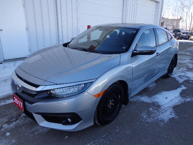 2017 Honda Civic Sedan 4dr CVT Touring #HH103241A