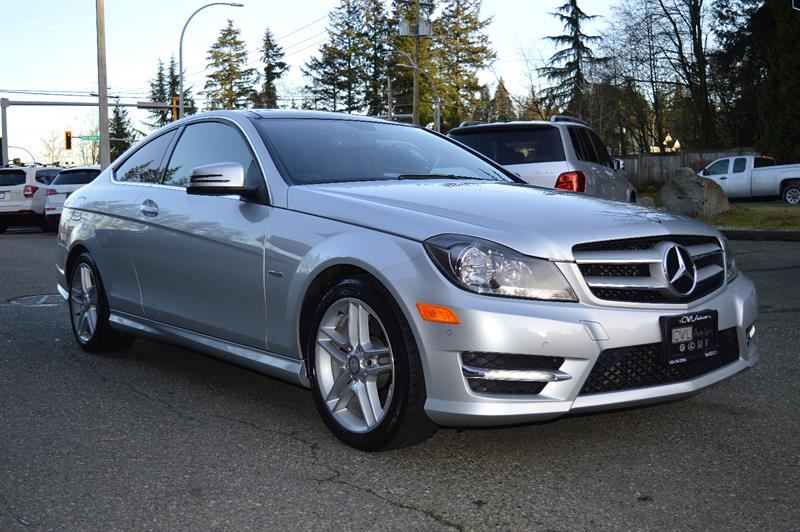2012 Mercedes-Benz C-Class C250 Coupe- New Tires & Brakes / No Accidents #CWL8929M