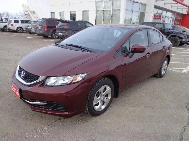 2015 Honda Civic Sedan 4dr Auto LX #FH006400A