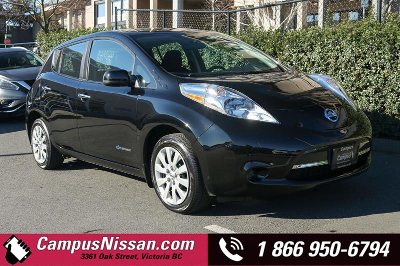 2016 Nissan Leaf | S | FWD w/ Quick-Charge #JN3120