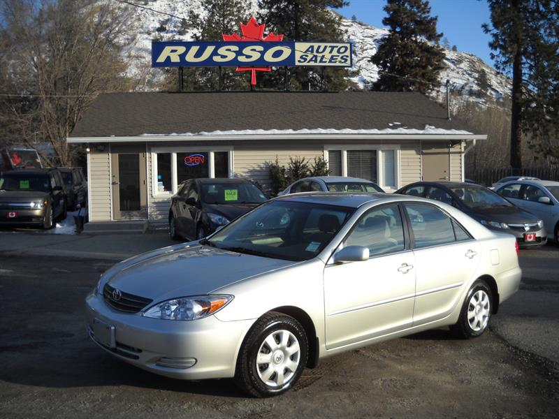 2002 Toyota Camry LOW KMS....SOLD....
