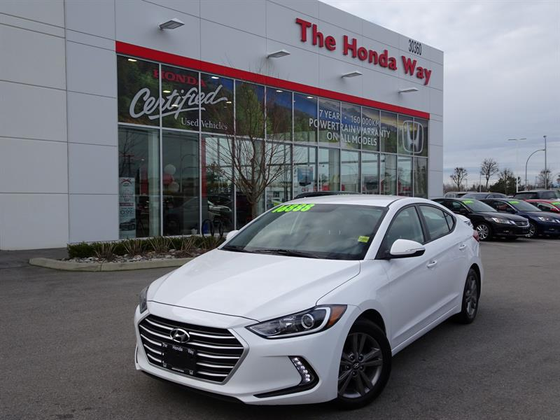 2017 Hyundai Elantra Limited, HEATED SEATS, B/U CAMERA, HEAT STEERING W #19-204A
