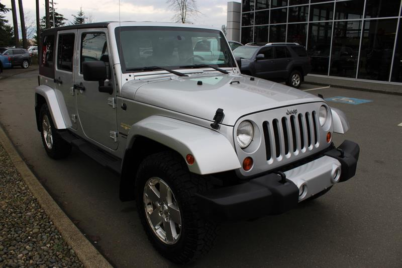 2010 Jeep Wrangler Unlimited 4WD 4dr Sahara #12134B