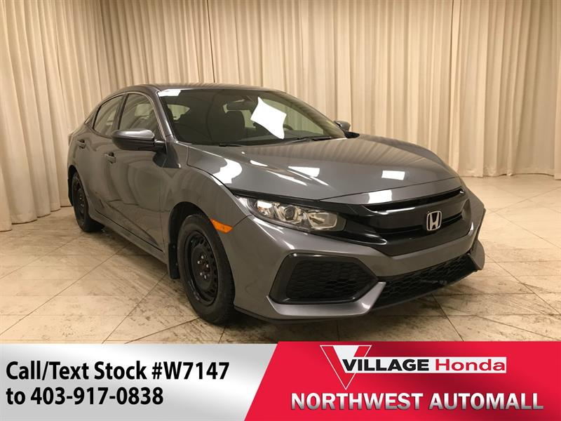 2017 Honda Civic Hatchback LX #W7147