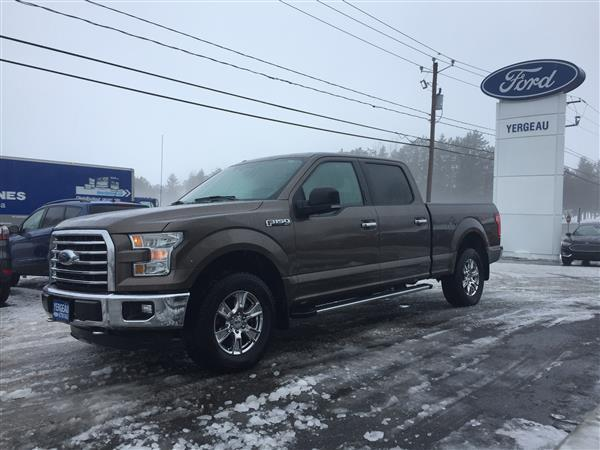 Ford F150*XTR*4X4*SUPERCREW*302A*GPS* 2016