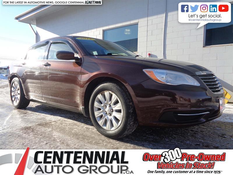 2012 Chrysler 200 LX 2.4 | A/C | Power Windows/Doors #18-376A