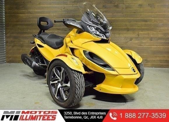 Can-am Spyder ST-S SM5 2014
