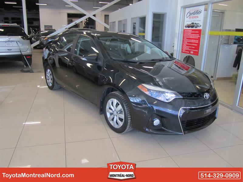 Toyota Corolla 2014 S /Ac/Vitres,Portes,Miroirs Electriques #3562 AT