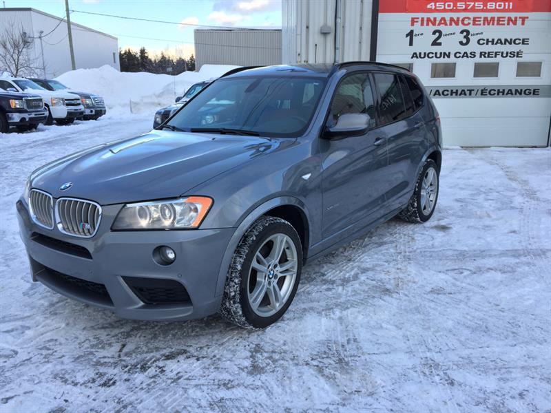 BMW X3 2012  35i X-DRIVE M-SPORT