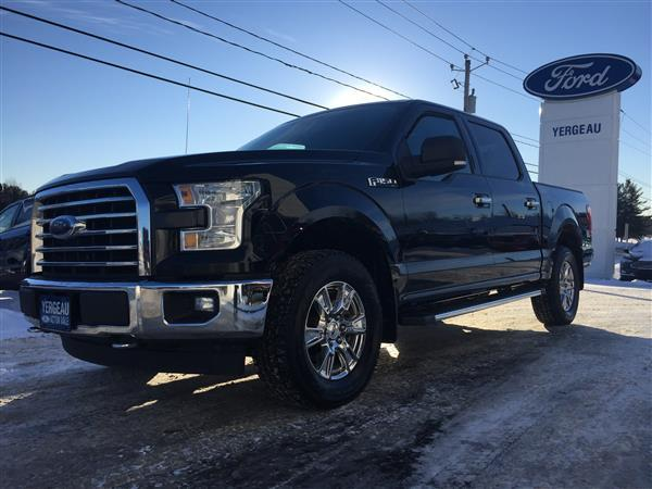 Ford F-150*XTR*SUPERCREW*302A*GPS*5.0L 2017