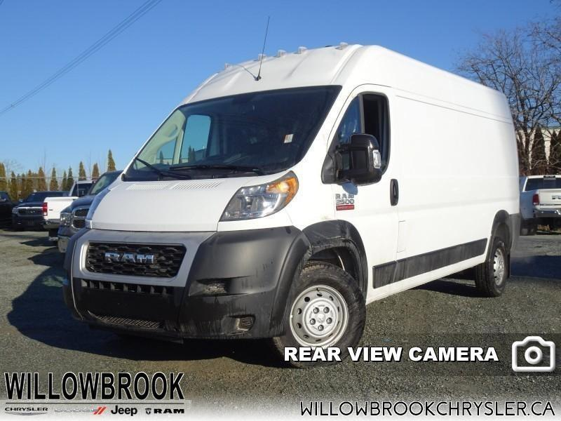 2019 Ram ProMaster 2500 High Roof 159 WB Cargo #19P2