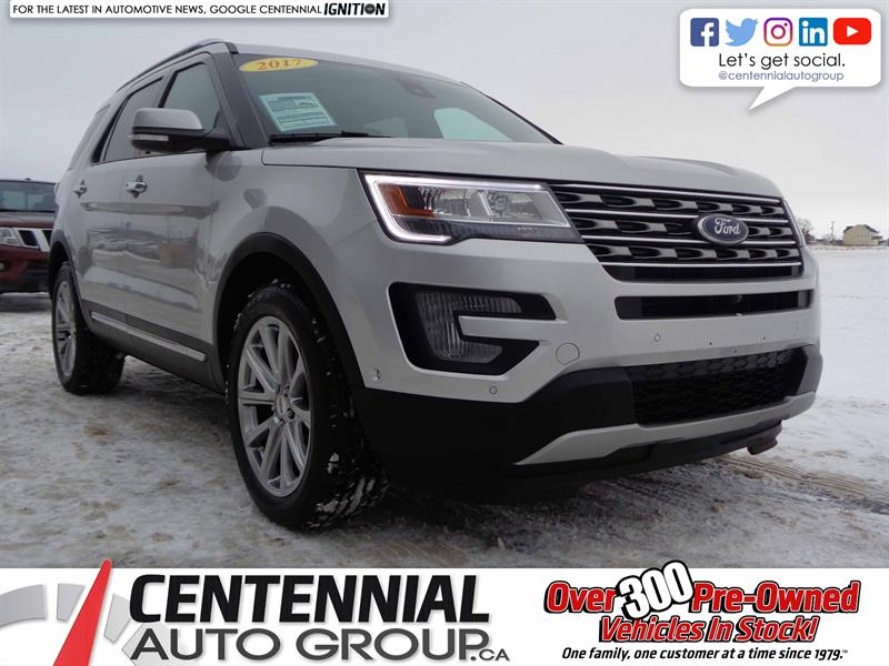 2017 Ford Explorer Limited | AWD | #S18-129A