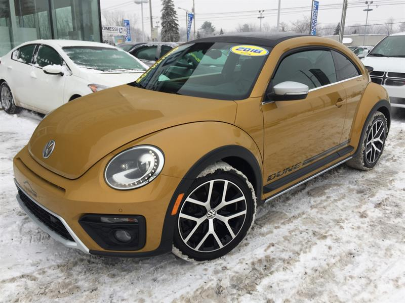 2016 Volkswagen Beetle Coupe DUNE ,DÉMAR DIST,MAGS #19360A