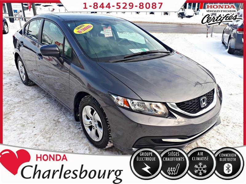 Honda Civic 2014 LX MANUEL **BLUETOOTH** #UL19633