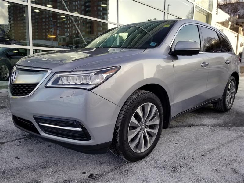 2016 Acura MDX Navigation Package #75868D