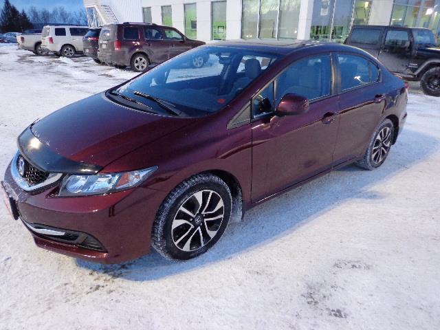 2013 Honda Civic Sdn 4dr Auto EX #DH035552A