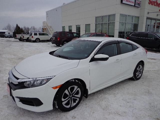 2017 Honda Civic Sedan 4dr Man LX #HH010614A