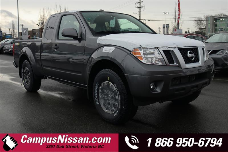 2019 Nissan Frontier PRO-4X 4WD King Cab Standard Bed Manual  #9-T178