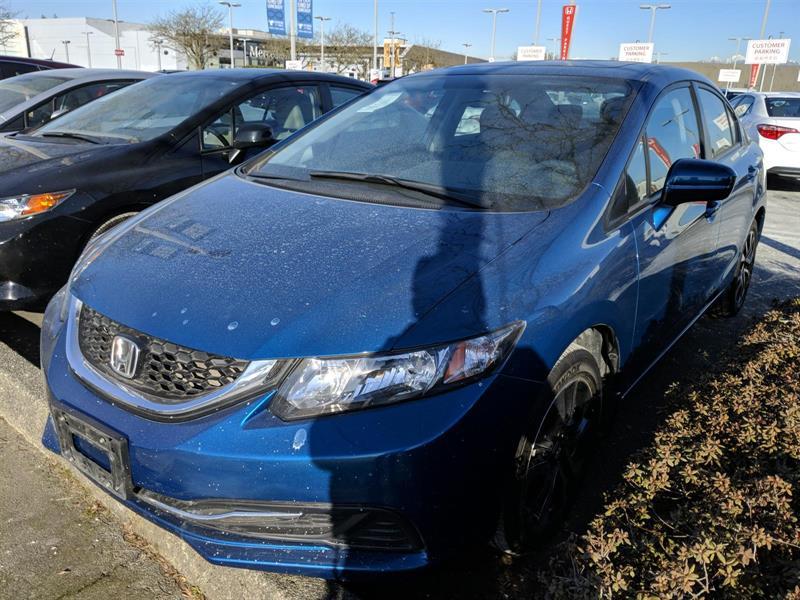 2015 Honda Civic Sedan EX CVT! Honda Certified Extended Warranty to #LH8535