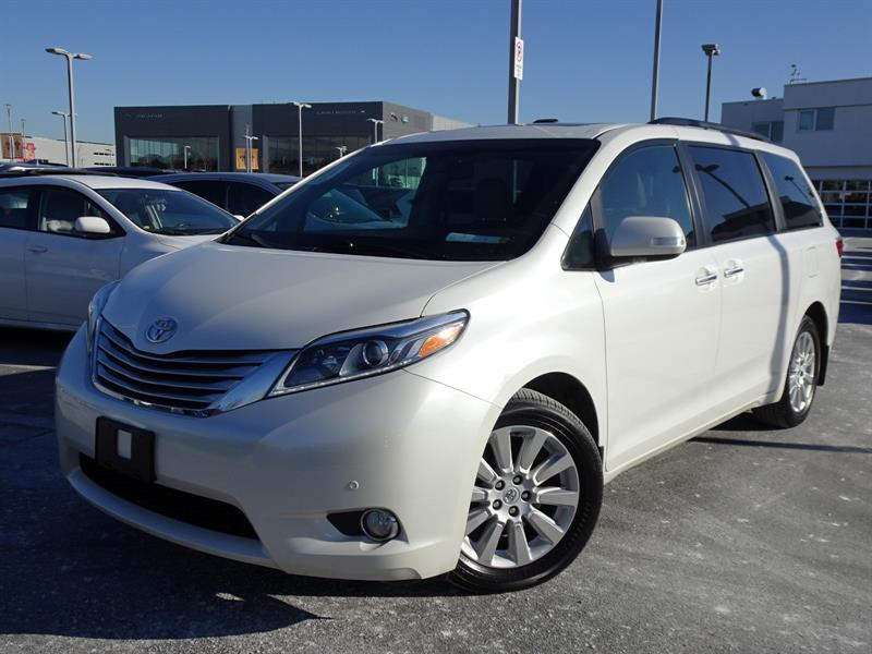 2015 Toyota Sienna XLE AWD 7-Pass V6! Balance Of Factory Warranty! #Y0199A