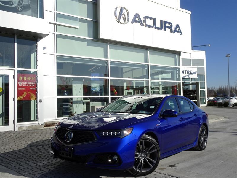 2018 Acura TLX Tech ASPEC Acura Certified #987407A