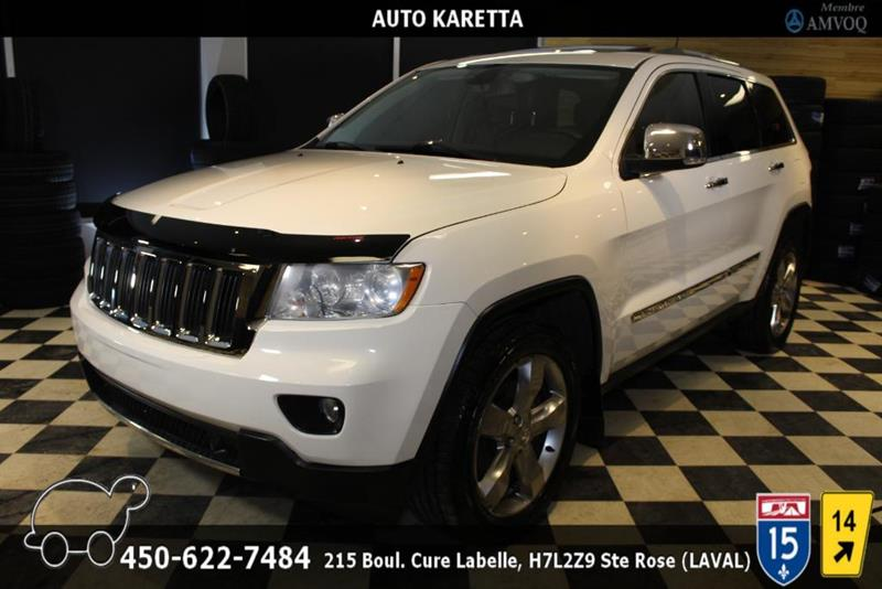 Jeep Grand Cherokee 2011 LIMITED 4X4, TOIT PANO, NAVI, CAM, XENON, CUIR, MA #AS8386