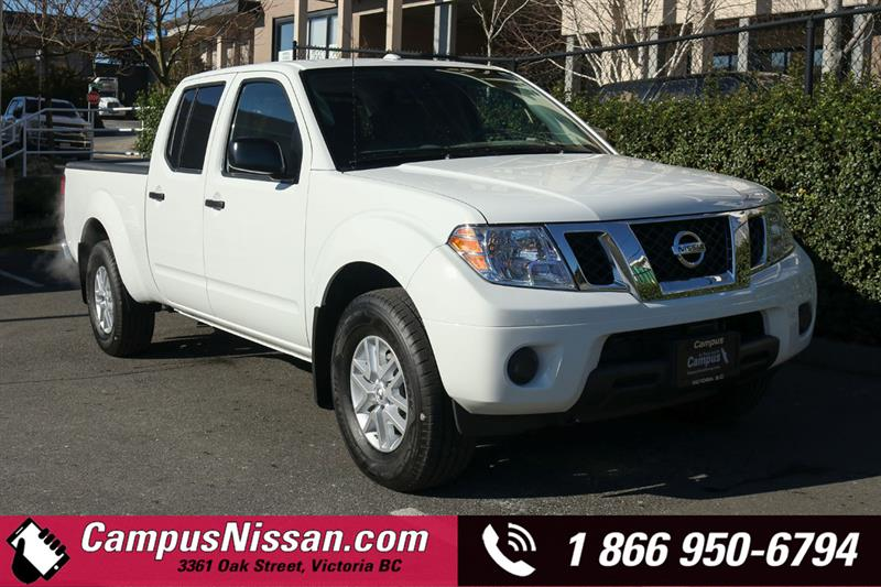 2018 Nissan Frontier SV 4WD Crew Cab Long Box #8-T380