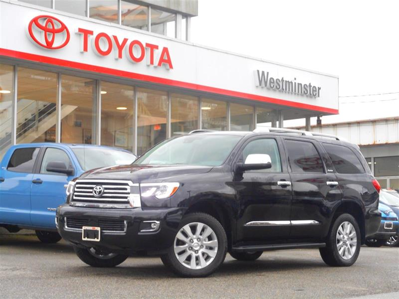 2018 Toyota Sequoia Platinum #SQ18693