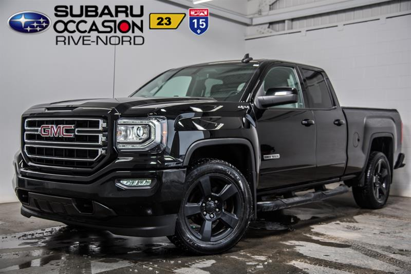 2017 GMC Sierra 1500 Elevation V8 4x4 CAM.RECUL+BLUETOOTH #S943599A