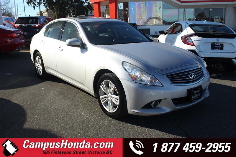 2010 Infiniti G37 Sedan Luxury AWD Bluetooth #19-0160A