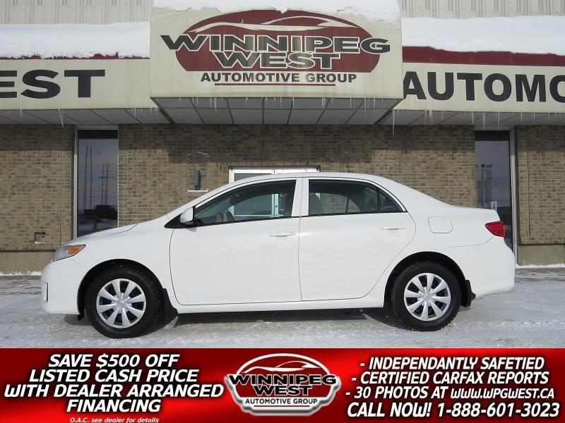 2012 Toyota Corolla AUTO, AIR, CRUISE, LOW KMS, CLEAN LOCAL TRADE! #CON168