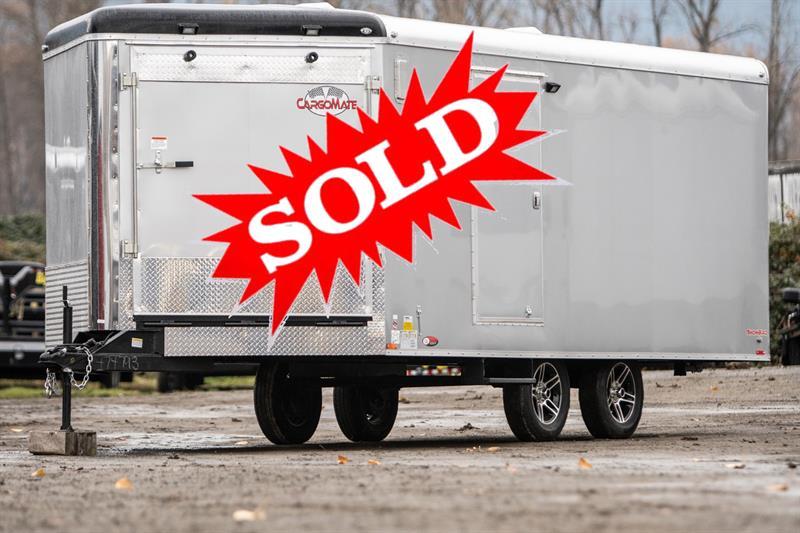 2019 Cargomate Snowbird 8.5X26 Snowmobile Trailer #SB9121