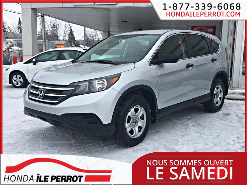 Honda CR-V 2014 2WD LX WOW BAS KILOMETRAGE JAMAIS ACCIDENTE #44841